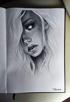 Girl by Sasha Alekseeva
