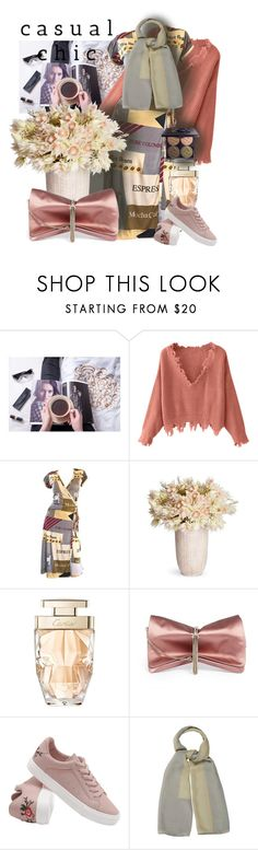 """150"" by tezart2 ❤ liked on Polyvore featuring Cartier, Jimmy Choo, Giorgio Armani and Chantecaille"