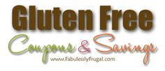 Savings tips for buying gluten free foods and coupons for gluten free food.