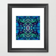 Water Dream Framed Art Print by Amy Sia - $36.00