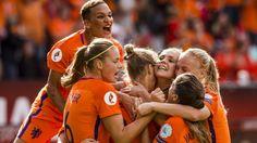 Historische EK-titel Oranjevrouwen dankzij zege op Denemarken