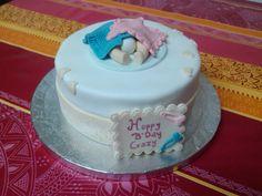 Tarta Baby celebracion embarazo. ¿Sera niño o niña?