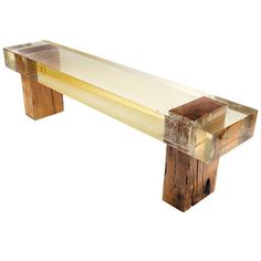 Shop benches and other antique and modern chairs and seating from the world's best furniture dealers. Modern Bench, Modern Chairs, Cool Furniture, Outdoor Furniture, Outdoor Decor, Mirror Jewellery Cabinet, Vintage Bench, Sofa Chair, Couch