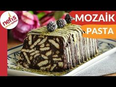 DÜNYANIN EN KOLAY VE EN LEZZETLİ 😍 Mozaik Pasta Tarifi - YouTube Rana Pasta, Pie Recipes, Tea Time, Cheesecake, Food And Drink, Pudding, Tasty, Desserts, Youtube
