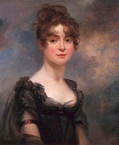 ca. 1810 Harriet Leonard Bull by Arthur William Davis (Philip Mould)