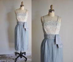 vintage 1950s 50s dress... lovely