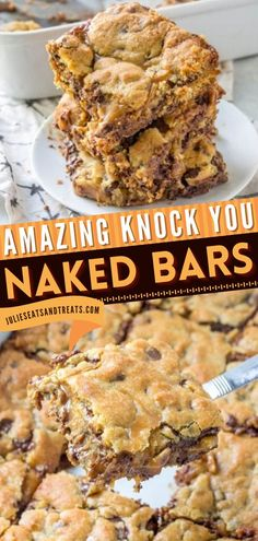 Looking for an epic holiday baking recipe? Knock You Naked Bars has a combination of caramel, peanut butter, and chocolate chips. They make a great Christmas dessert or a Thanksgiving sweet treat! Easy Holiday Recipes, Food For A Crowd, Food Lists, Holiday Baking, Christmas Desserts, Cookie Bars, Sweet Recipes, Peanut Butter, Caramel