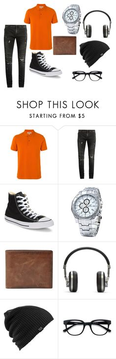 """naruto modern"" by nikita2004 on Polyvore featuring Burberry, Balmain, Converse, FOSSIL, Master & Dynamic, Burton, modern, men's fashion and menswear"