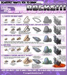 Scarypet Rock tutorial http://scarypet.deviantart.com/art/Scarypet-s-ROCK-ing-tutorial-208101226