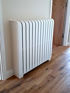 The home of cool bespoke designer radiator covers. The stylish, elegant & intelligent radiator cover solution. Steam Radiators, Painted Radiator, Casa Clean, Basement Layout, Designer Radiator, Christmas Interiors, Steampunk House, Radiator Cover, Hall