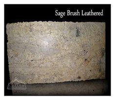 Custom Marble U0026 Granite: Sage !!Brush Leather Granite!