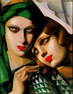 Tamara de Lempicka The Green Turban 1930 Oil on wood panel