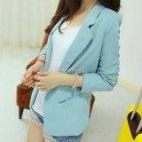Women Outerwear Long-sleeve Coat Casual Suit Blazer,  http://www.shopcost.co.uk/