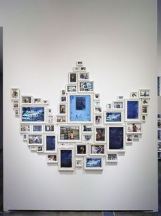 Collection of picture frames to create a bigger picture – addidas example shown: