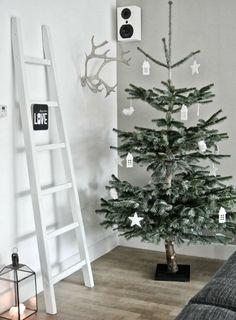 北欧クリスマスツリー白デコレーション