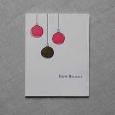 minimalist christmas cards - Google Search