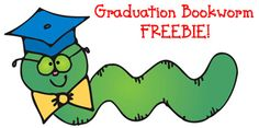 This friendly little Graduation Bookworm FREEBIE will bring a whimsical smile to graduation projects of any kind! Great for teachers, parents, administrators & students! Available only through today! (5/13/15)