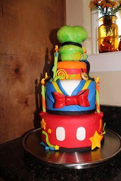 Kelli's Kakez: Disney Birthday Cake
