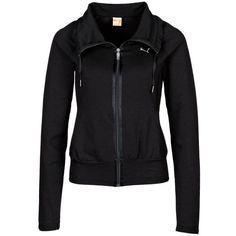 Puma MOVE SWEAT JACKET Training Jacket ($54) ❤ liked on Polyvore featuring activewear, activewear jackets, black, other sports, puma activewear and puma sportswear