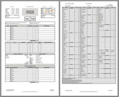 Download a free call sheet template to get your crew on the same page. From No Film School.