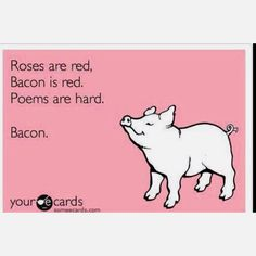 bacon, nuff said Lol, Haha Funny, Hilarious, Funny Stuff, Funny Things, Funny Sarcasm, Funny People, Funny Shit, It's All Happening