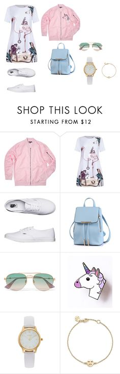 """Base set_color"" by grinok on Polyvore featuring мода, Vans, Gucci, Vivani и Bing Bang"