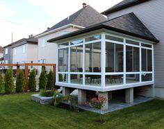 Solarium maison neuve, profitez de l'extérieur plus longtemps! Sunroom Véranda Plus