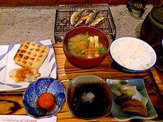 芦名の朝食!