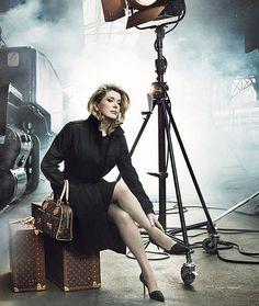 Catherine Deneuve, by Annie Leibovitz