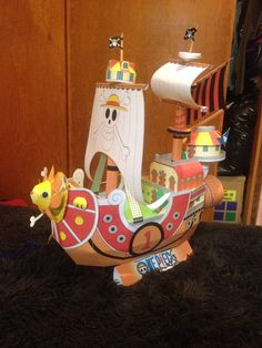One Piece paper ship made by me :)