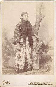 Needle Parker (a daughter of Quanah Parker) - Comanche - circa 1899