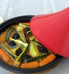 Receta de Tajine de Verduras