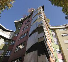 Hans Scharoun, Romeo Und Julia, Organic Architecture, Multi Story Building, Buildings, Stuttgart, World War One, Farmhouse, Homes