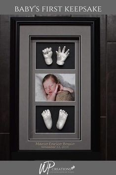 WP Creations - Contactless Baby Hand and Footprints with Casts and Jewelry Gifts For New Moms, Gifts For Dad, Newborn Gifts, Baby Gifts, Cool Gifts, Unique Gifts, First Time Dad, Godparent Gifts, Baby Keepsake