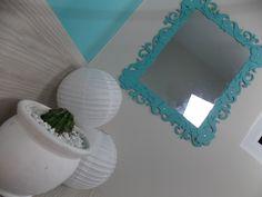 DIY - Moldura Espelho Provençal de Papel - e aí, vamos decorar?