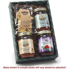Salsa 3-Pack Gift Set ( Garlic Habanero Vodka - Mango Peach Tequila - Huckleberry )   ... by Maria's Style on LaPrima Royale #LaPrimaRoyale