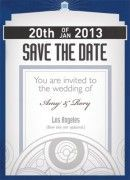 Timey Wimey Save the Date from @Geekvites