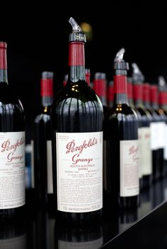 Penfolds Grange - One day I will try this wine!