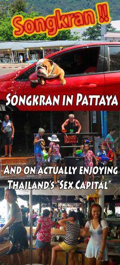 Songkran in Pattaya.