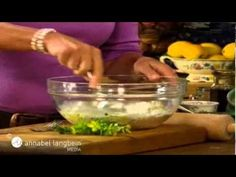 Sesame Lavosh - Annabel Langbein, The Free Range Cook series one - YouTube
