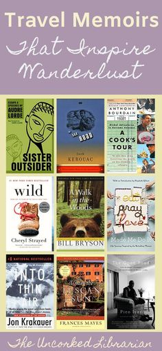 Are you looking for travel writers and travel memoirs that inspire wanderlust?  Check out these bestselling writers and their travel books with this travel stories book list.   Find adult nonfiction, books for wanderlust, and global books from around the world. Authors include Bill Bryson, Elizabeth Gilbert, Frances Mayes, and Anthony Bourdain.