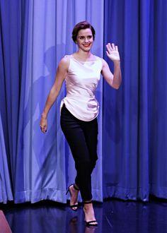 """"""" Emma Watson - Tonight Show starring Jimmy Fallon (4/27/17) """""""