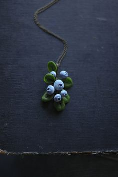 A berry sweet necklace.