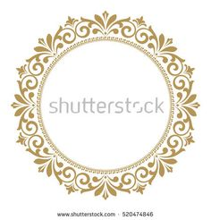 Decorative line art frames for design template. Elegant vector element for design in Eastern style, place for text. Lace illustration for invitations and greeting cards. Stencil Patterns, Stencil Designs, Painting Patterns, Pattern Art, Painting Templates, Stencil Painting, Clock Craft, Deco Paint, Decorative Lines