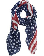 These Cute American Flag Scarves are only $1.99 and that is with shipping! You really can't beat a deal like this. These would be perfect for the 4th of July or Memorial Day. You would be stylish and patriotic with this scarf! Here is some more info on this scarf: Material: soft chiffon;Sheet Style:star flag …