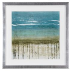 Stretched Canvas Print: Shoreline Memories II by Heather Mcalpine : Framed Artwork, Wall Art, Affordable Modern Furniture, Canadian Art, Wooden Bar, Painting Edges, Cool Posters, Stretched Canvas Prints, Decoration