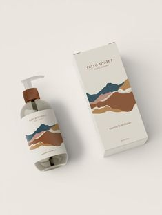 Packaging Design for Terra Mater Organic Skincare. Skincare Packaging, Luxury Packaging, Cosmetic Packaging, Beauty Packaging, Organic Packaging, Design Packaging, Japanese Packaging, Packaging Ideas, Packaging Inspiration