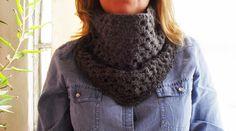 Golas em Lã | Maparim, gray scarf, granny scarf, wool scarf, crochet scarf, amazing scarf, handmade scarf