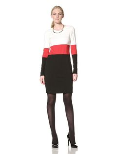 JB by Julie Brown Women's Colorblock Morgan Shift
