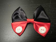 Mickey Mouse hair bow-should be easy to make
